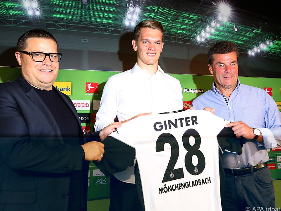 Ginter wechselt von Wolfsburg zu Gladbach