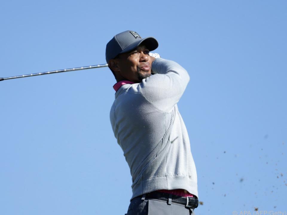 Golfer Tiger Woods ist in professioneller Behandlung
