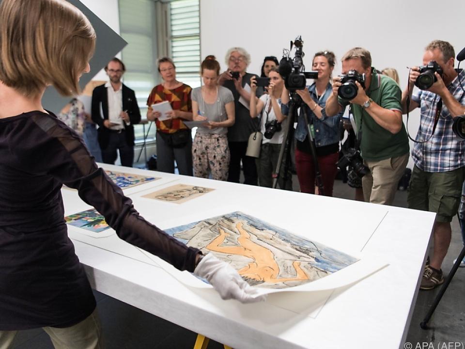 Großer Medienrummel bei Präsentation im Kunstmuseum Bern