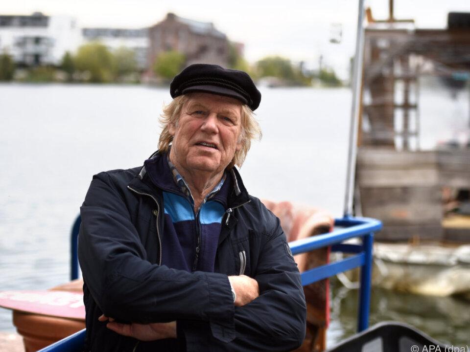 Gunter Gabriel lebte auf einem Hausboot in Hamburg-Harburg