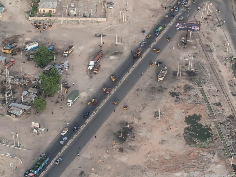 Hochburgen der Boko-Haram-Miliz im Nordosten Nigerias