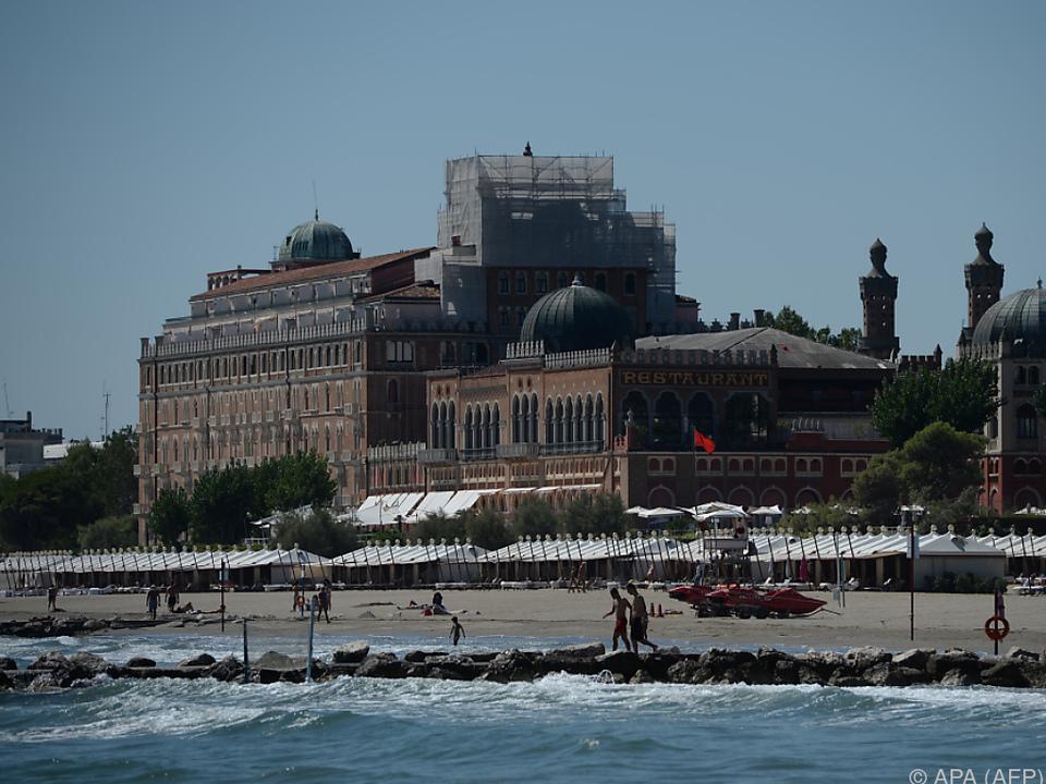 Hotel Excelsior am Lido in Venedig nur noch auf Rang zwei