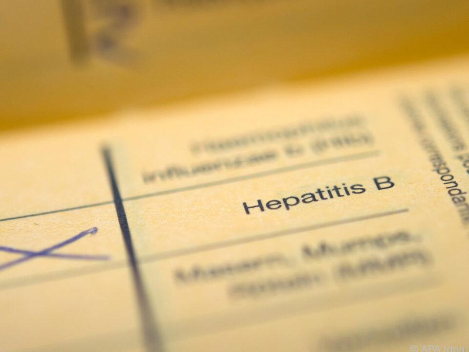 Impfschutz gibt es nur gegen Hepatitis B