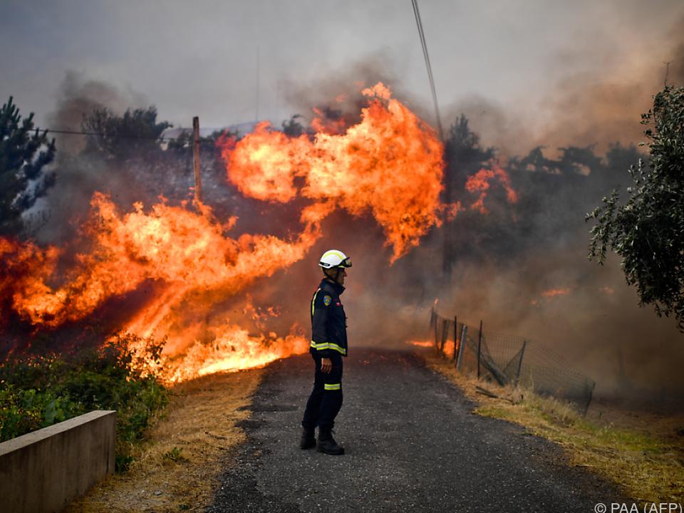 In Macao brannten mehrere Häuser ab