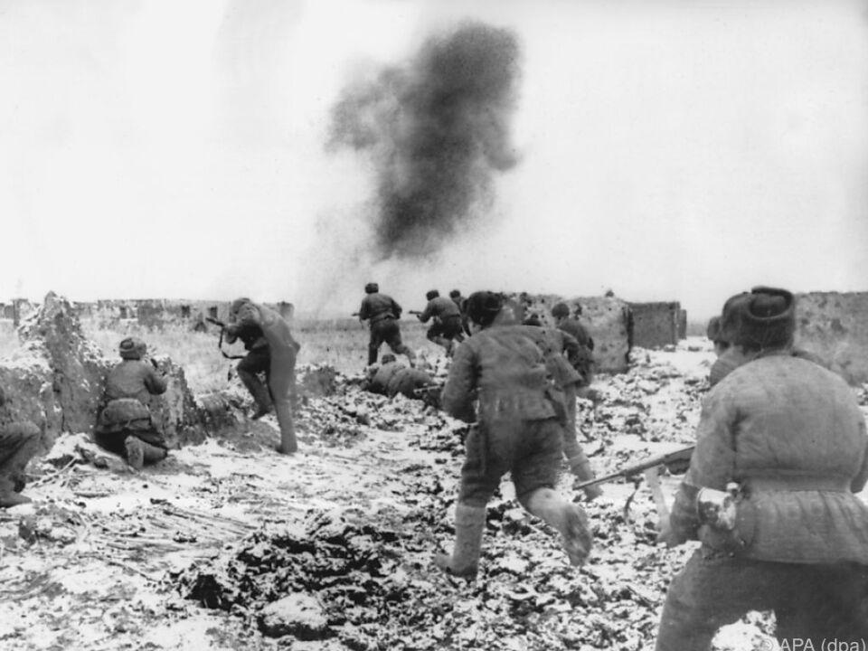 In Stalingrad wendete sich für die sowjetischen Truppen das Blatt