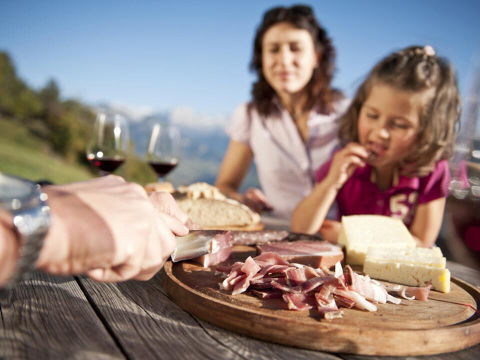 Tourismus Speck Wein Ritten Familie (nur für IDM)