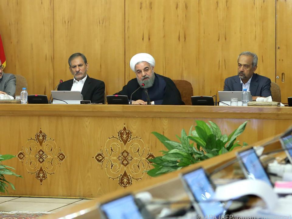 Iran will sich gegen neue Sanktionen wehren