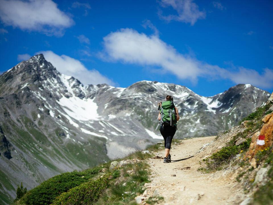 Hiking Vinschgau (2) wandern bergsteigen berge alpinist urlaub