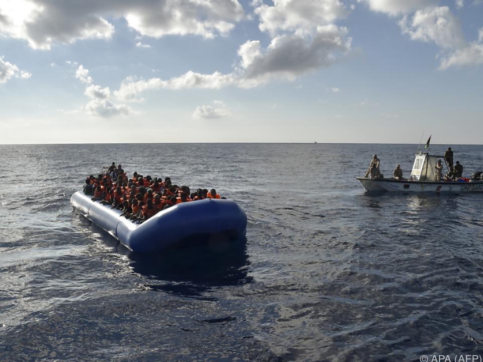 Italien macht die Flüchtlingswelle schwer zu schaffen