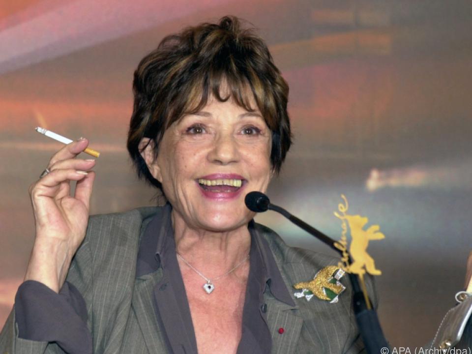 Jeanne Moreau spielte in mehr als 150 Filmen mit