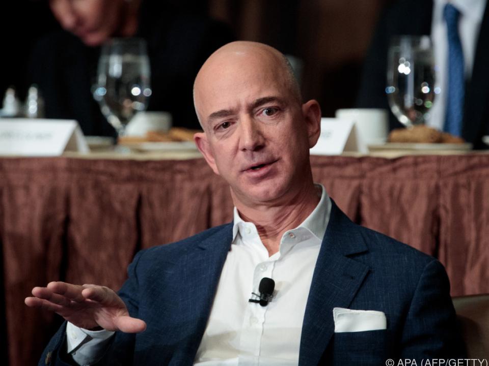 Jeff Bezos ist wieder \