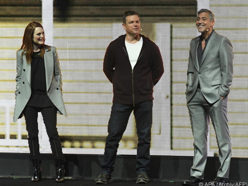 Julianne Moore, Matt Damon und George Clooney unter Hauptprotagonisten