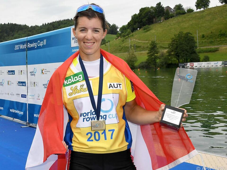 Kärntnerin Magdalena Lobnig ist die beste Ruderin der Welt