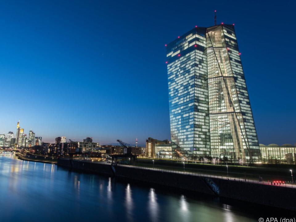 Kein Kurswechsel bei der Europäischen Zentralbank