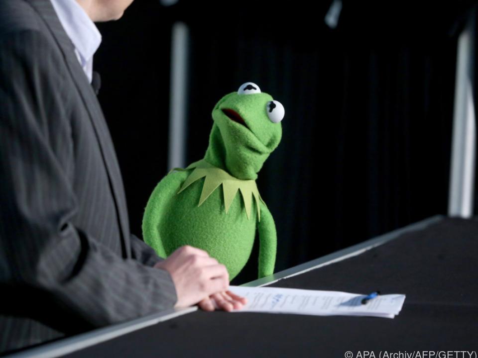 Kermit hat sein Rückgrat verloren