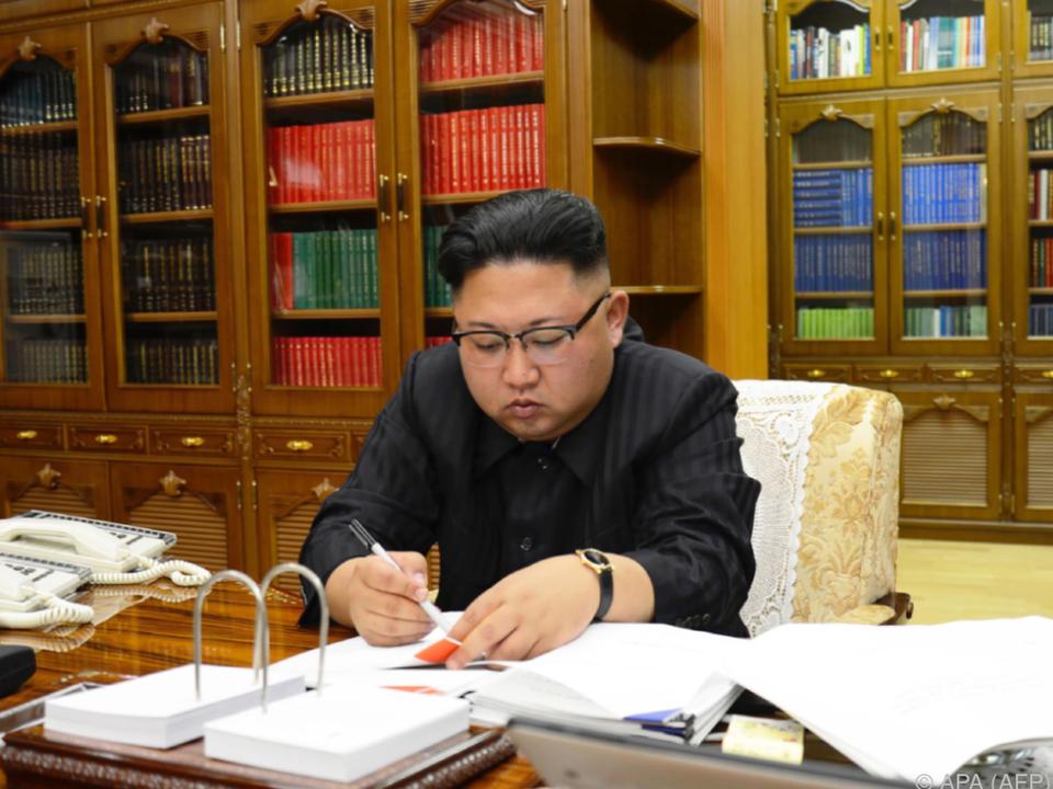 Kim Jong Un zu keinen Kompromissen bereit