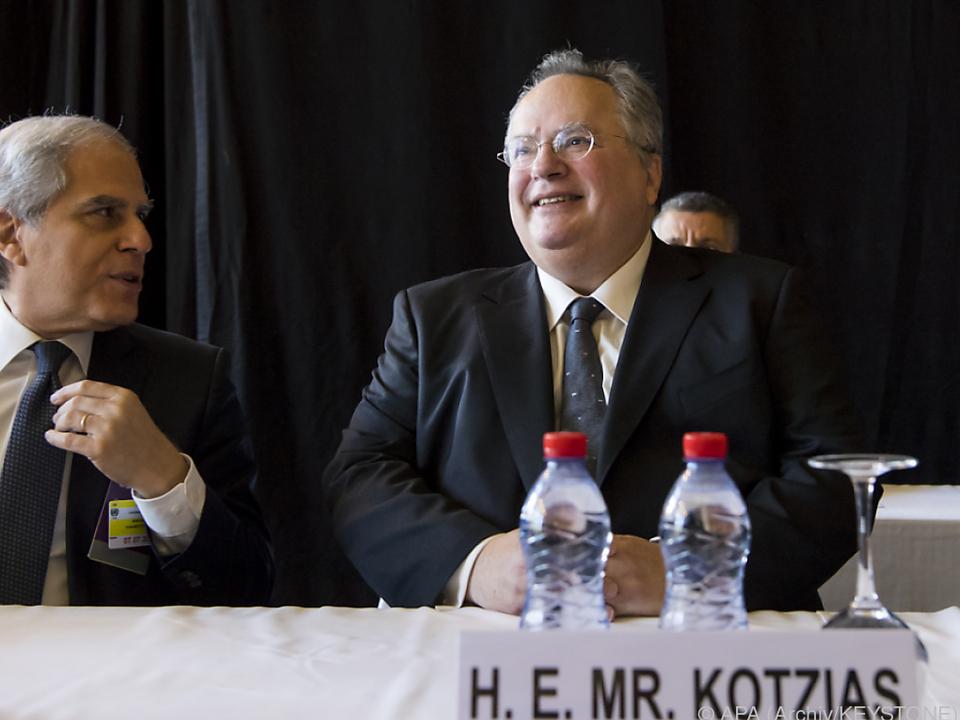 Kotzias fordert Abzug der türkischen Truppen von Zypern
