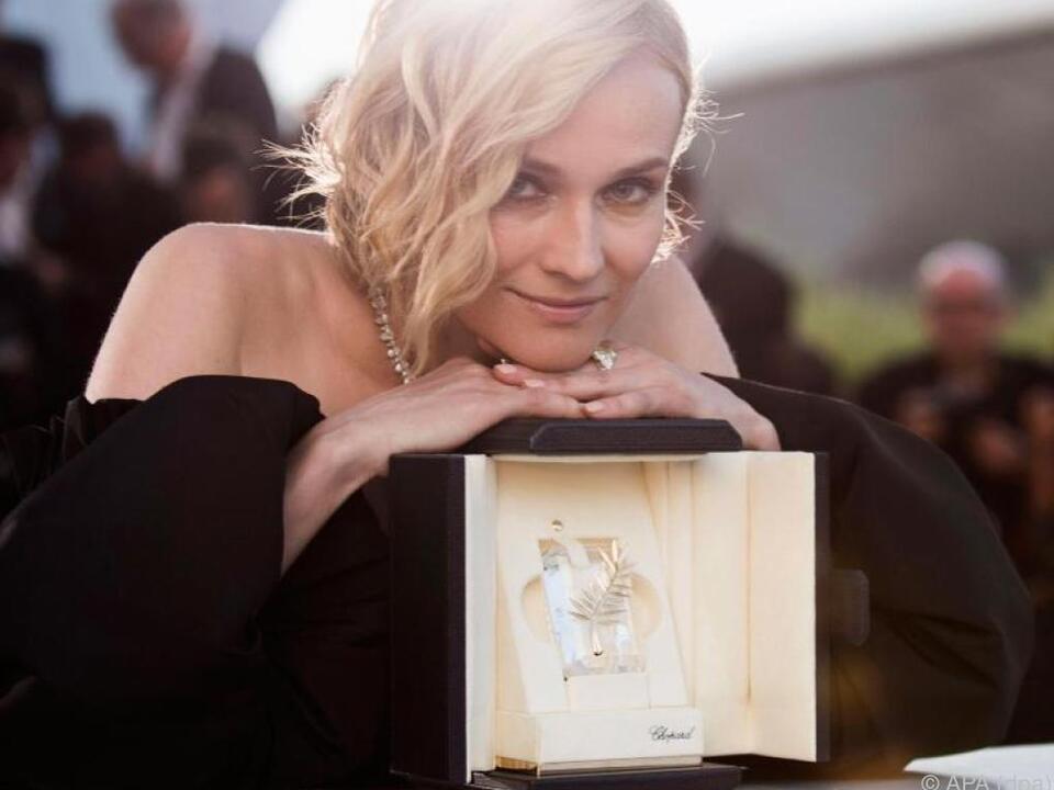 Kruger wurde in Cannes als beste Schauspielerin ausgezeichnet