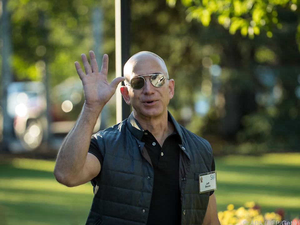 Kursanstieg bei Amazon hievte Bezos an die Spitze