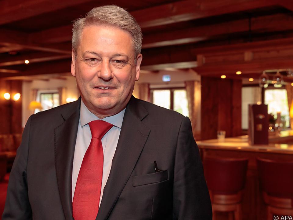 Landwirtschaftsminister Andrä Rupprechter