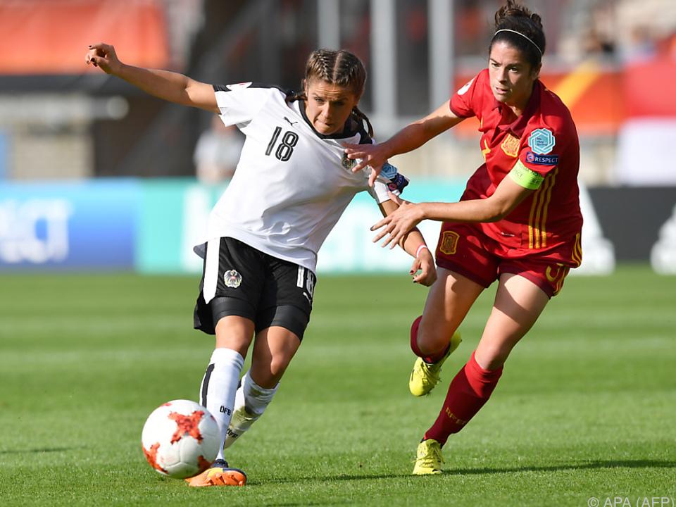 Laura Feiersinger wurde zur Frau des Spiels gewählt