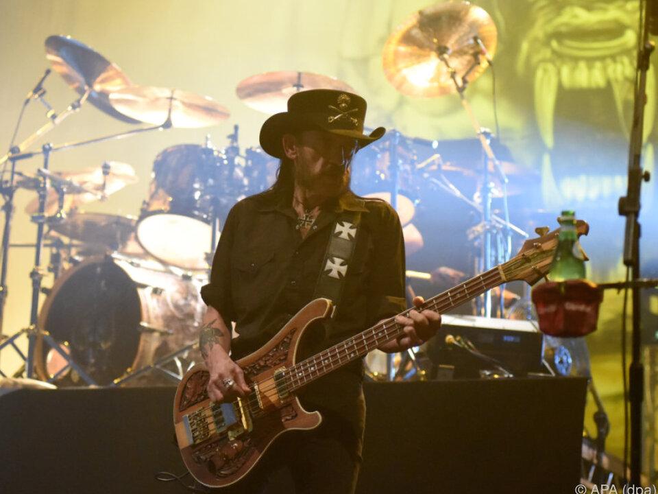 Lemmy Kilmister intonierte David Bowies \