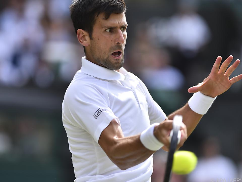 Novak Djokovic und Roger Federer mit Kurzarbeit