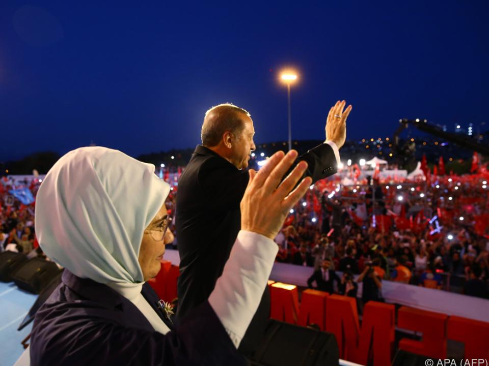 Machtinszenierung Erdogans am Jahrestag des Putschversuchs
