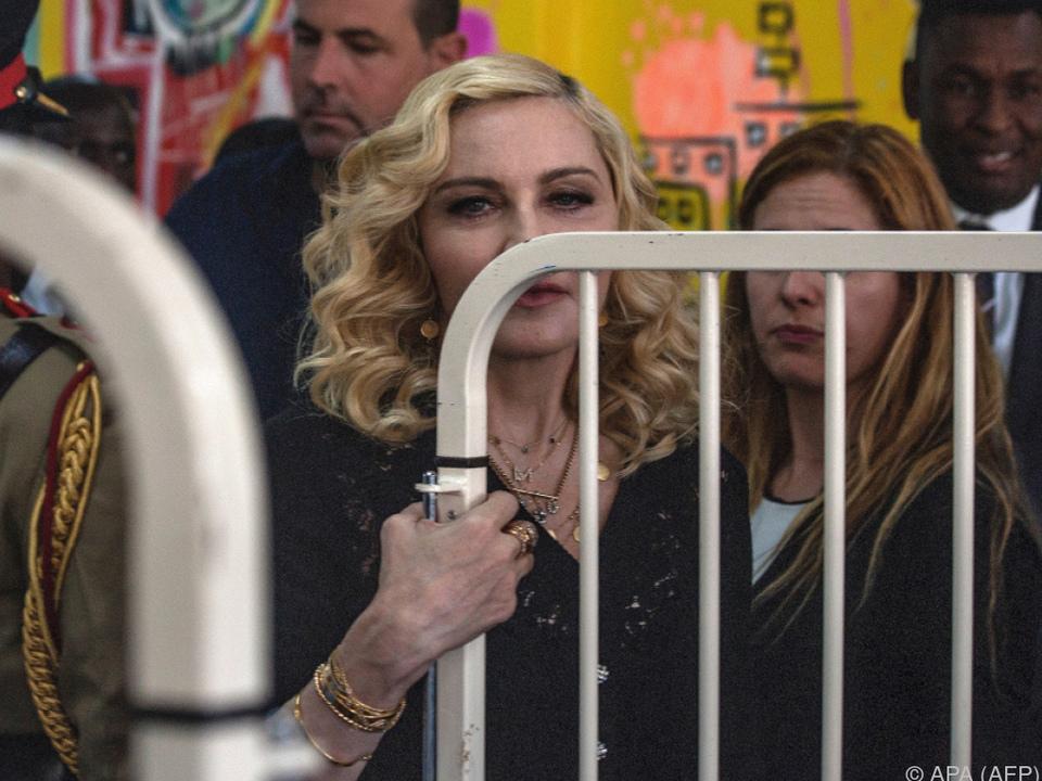 Madonna hat vier Kinder aus Malawi adoptiert