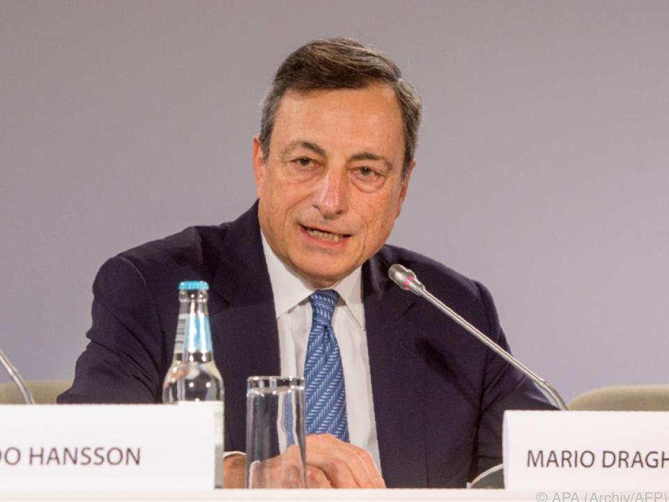 Marktreaktionen nach einer Schlüsselrede von Draghi
