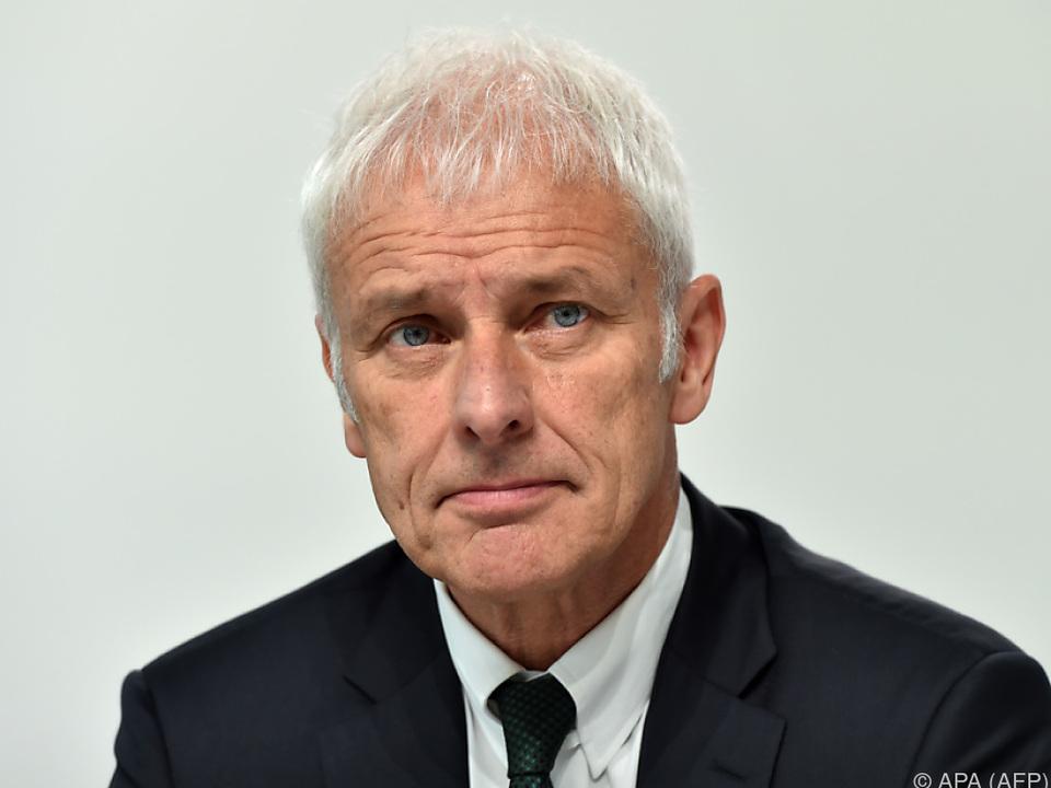 Matthias Müller geht hart mit seinen Vorgängern ins Gericht