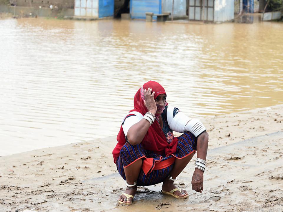 Mehr als 100.000 Menschen mussten ihre Häuser verlassen