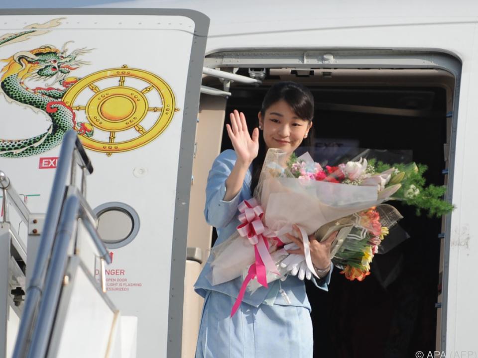 Nach Heirat verliert Prinzessin Mako ihren Status