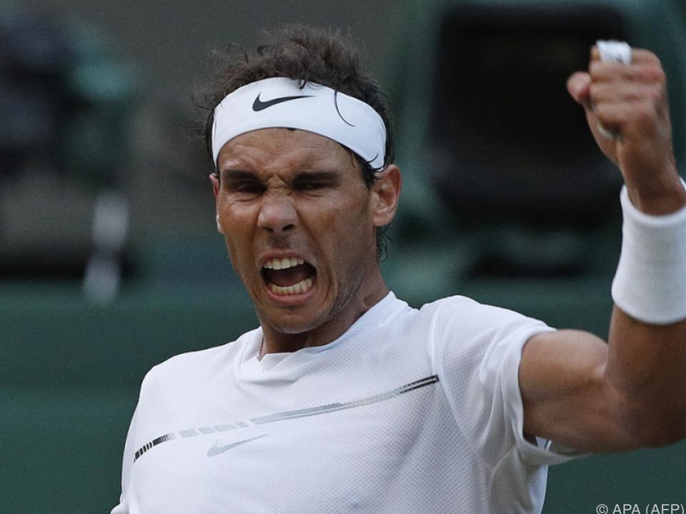 Nadal wahrt die Chance auf den nächsten Titel