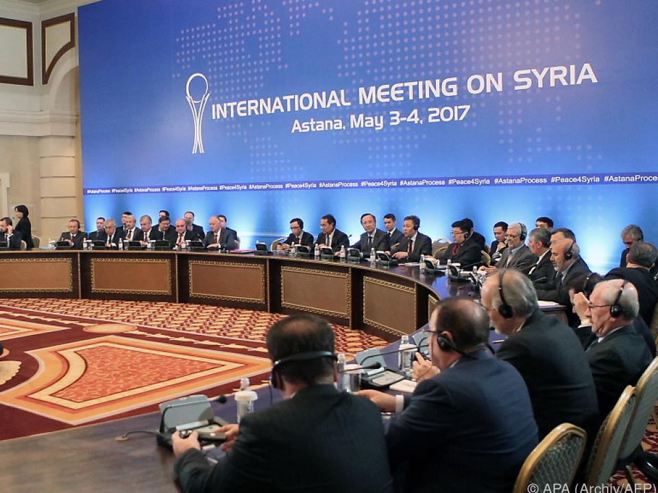 Neue Gespräche in Astana angesetzt