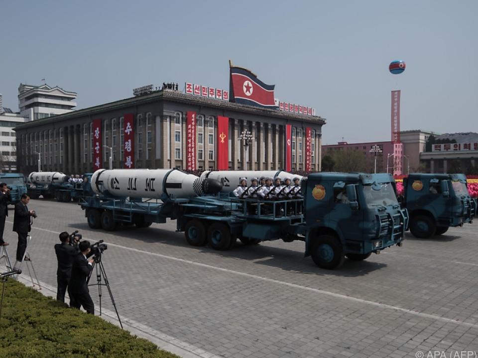 Nordkorea wähnt sich gerüstet