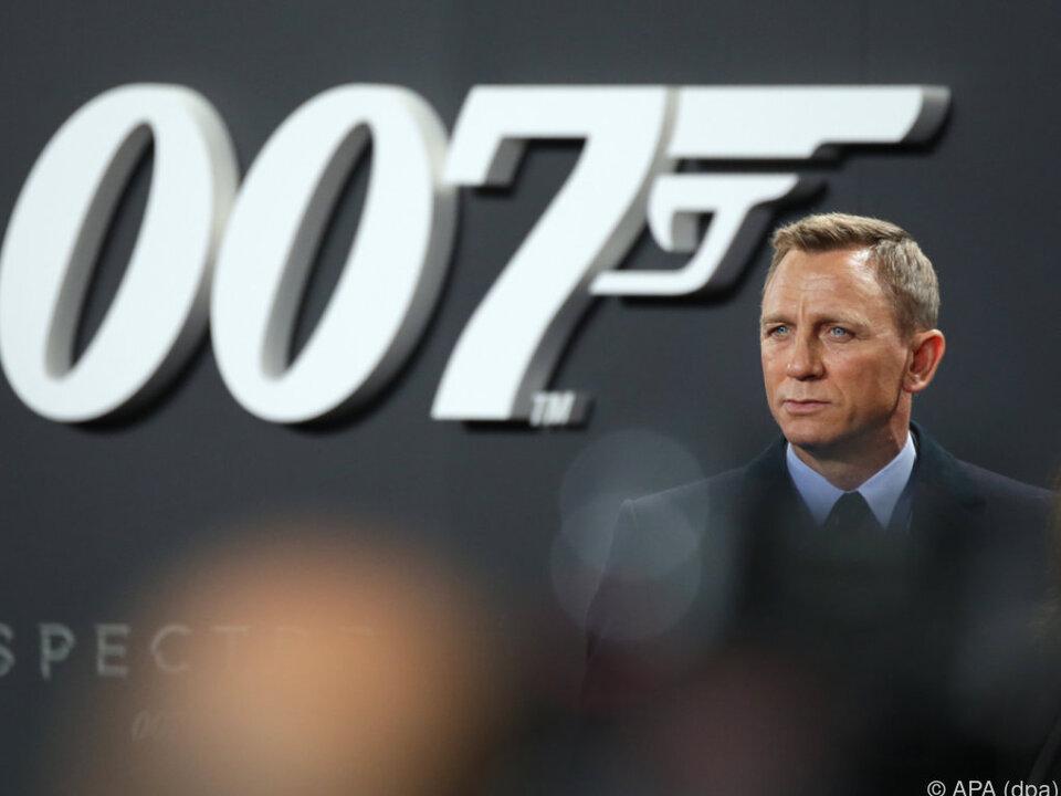 Neuer Bond-Film startet im November 2019