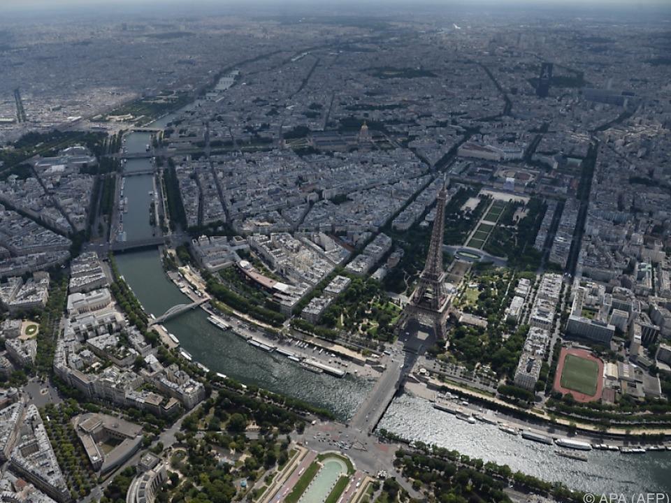 Paris ist zuerst an der Reihe