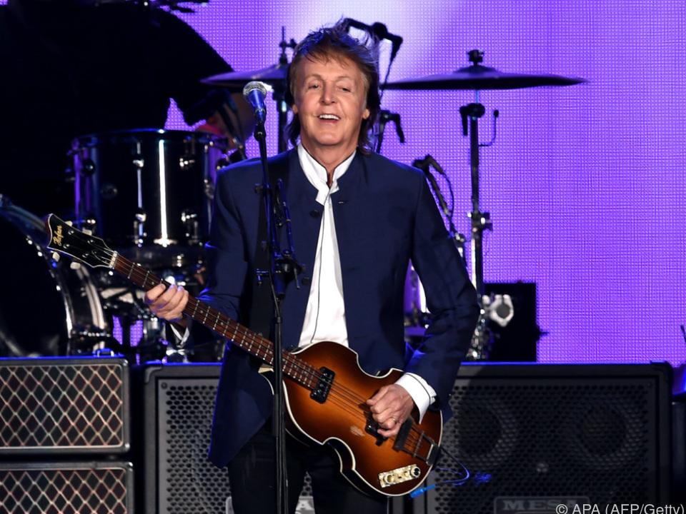Paul McCartney dürfte zufrieden sein