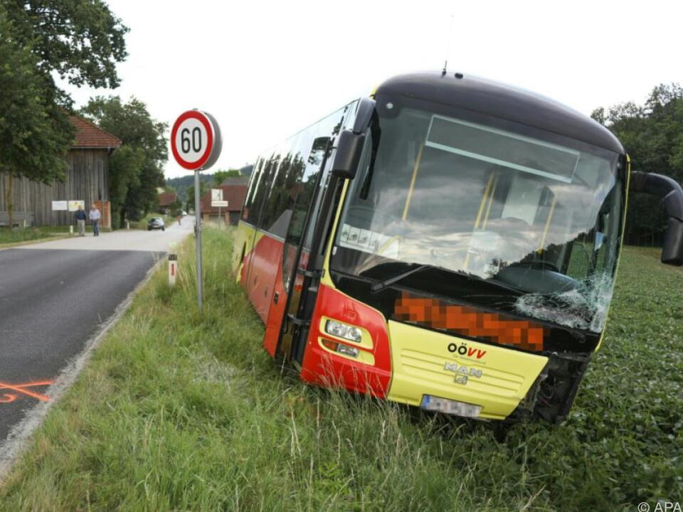 Pensionisten dürften Autobus übersehen haben