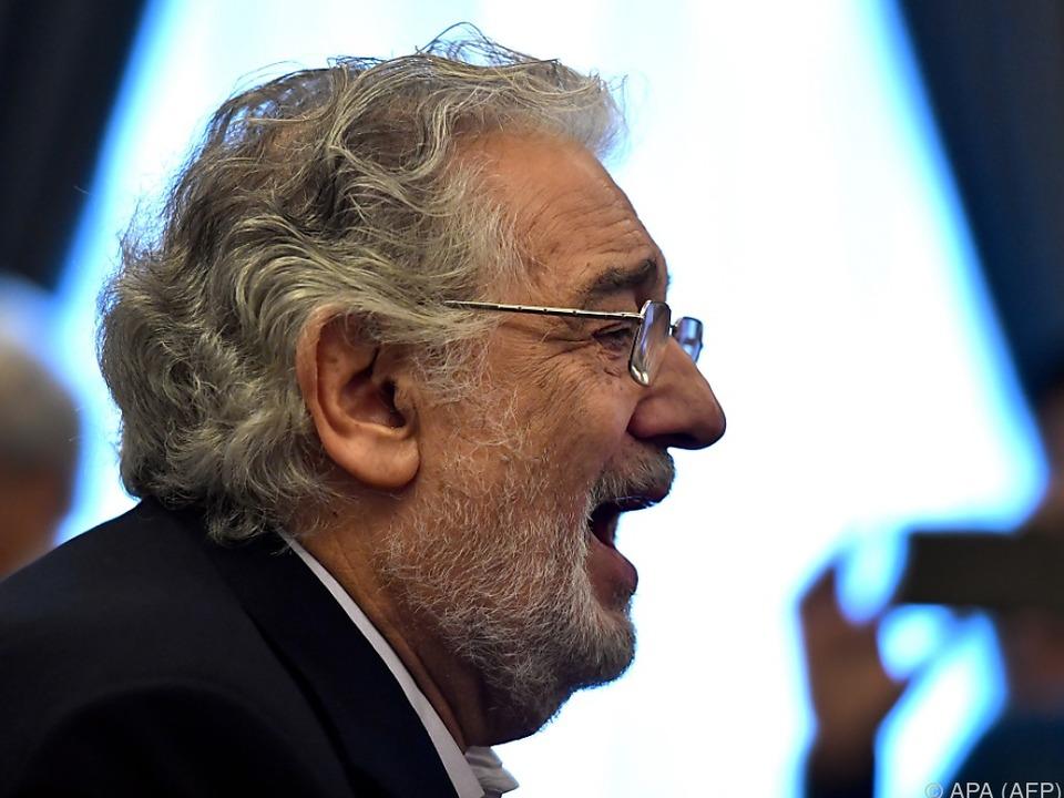 Placido Domingo präsentierte Verdi-Produktion \