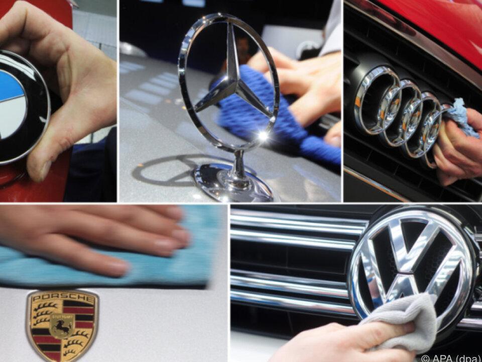 Prominente deutsche Automarken betroffen