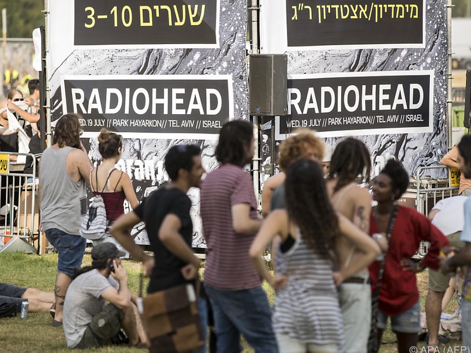 Radiohead wollen ihr Publikum nicht boykottieren