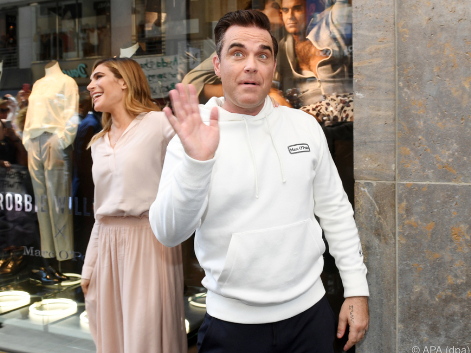Robbie Williams präsentiert eigene Mode-Kollektion