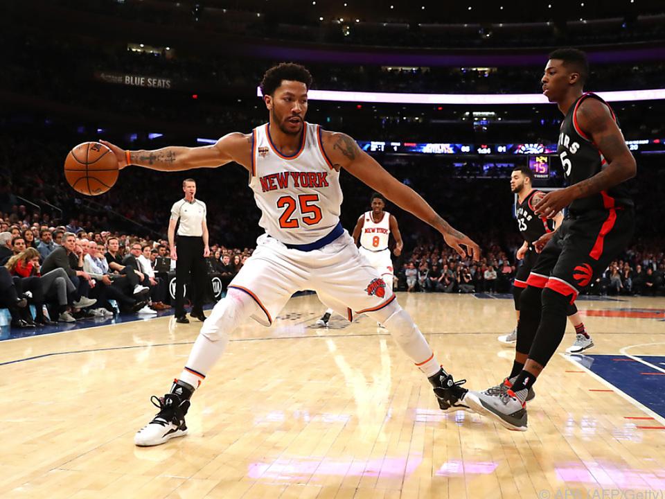Rose verließ die Knicks und wechselt zu den Cavaliers