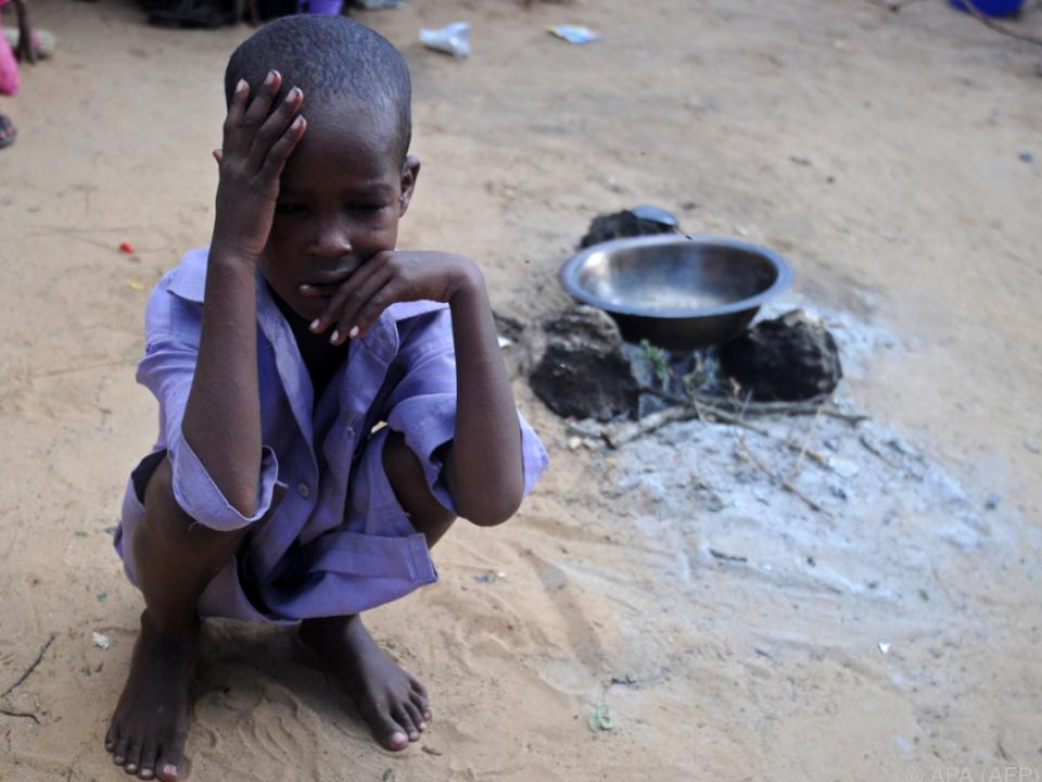 Rund 20 Millionen Menschen von Hungersnot bedroht