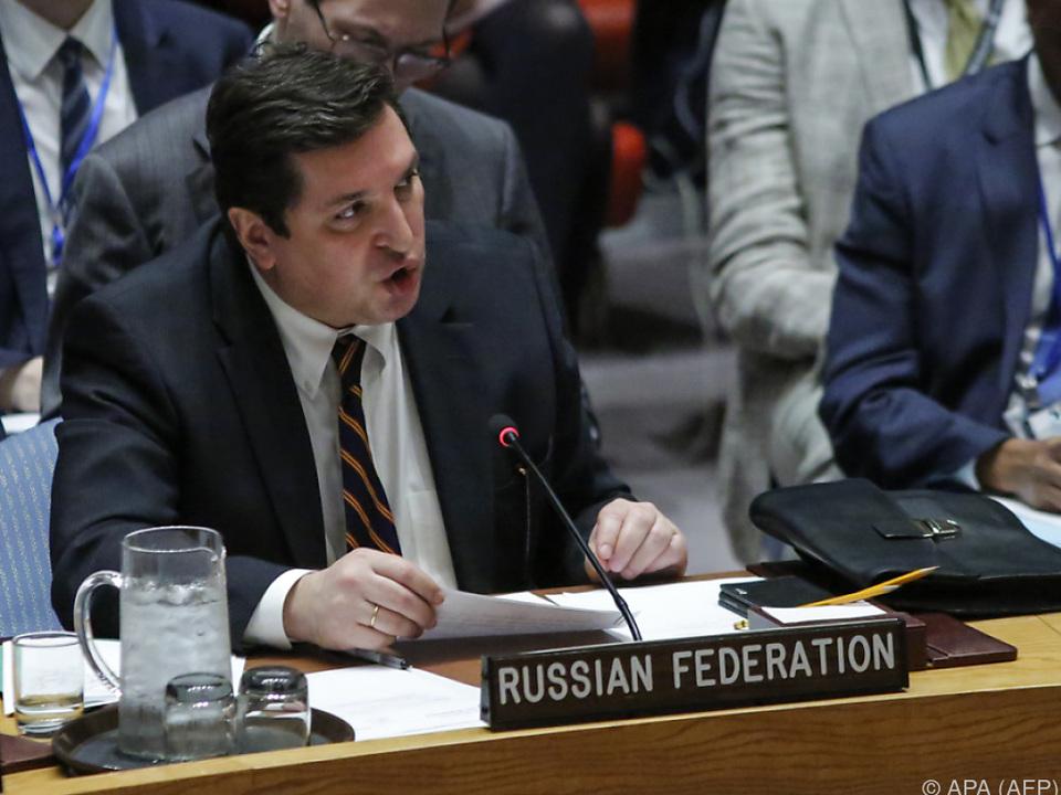 Safronkow spricht sich gegen Sanktionen aus