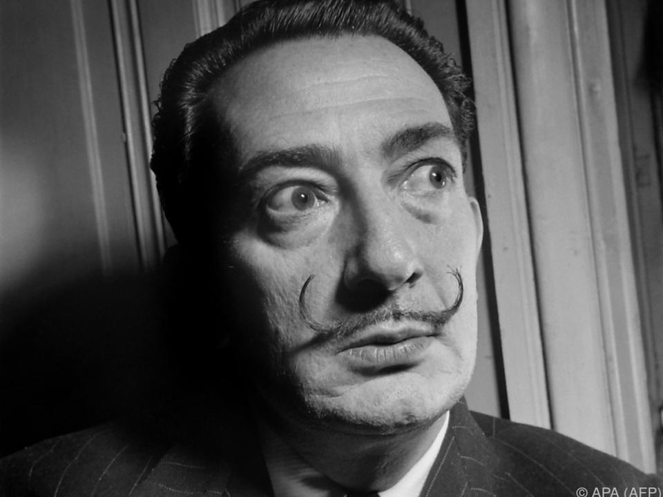 Salvador Dali muss sich 28 Jahre nach seinem Tod Vaterschaftstest unterziehen