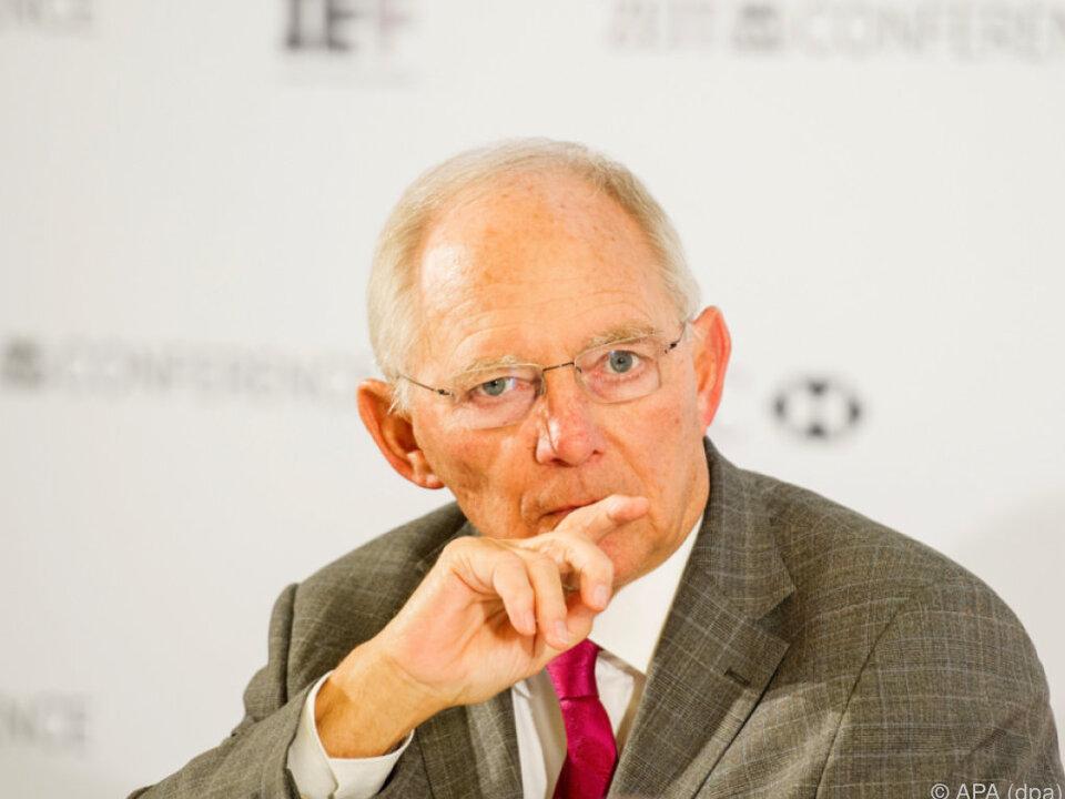 Schäuble erklärte die Beendigung