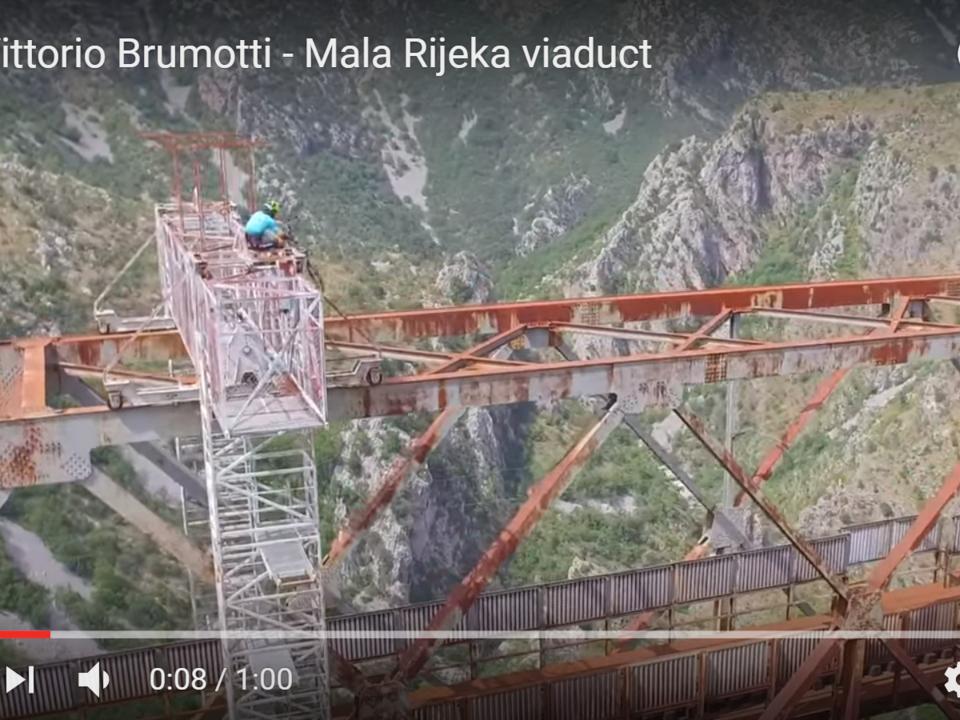 YouTube/100% Vittorio Brumotti - Mala Rijeka viaduct